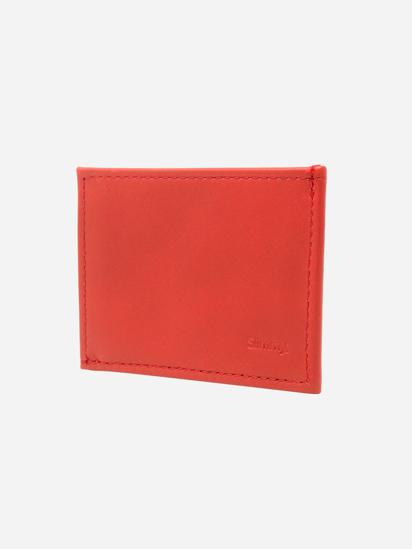 OG X 1-Pocket Wallet (73mm) - Core Red