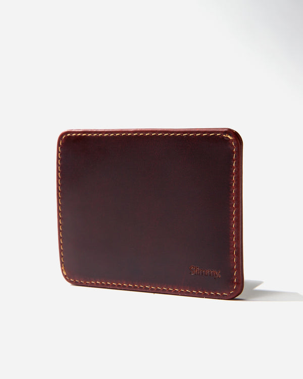 R1S2 1-Pocket Wallet (83mm) - Oil Tan