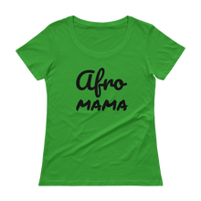 Afro Mama Scoopneck T-Shirt