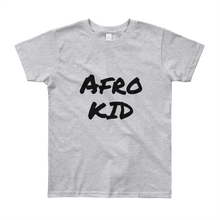 Afro Youth Short Sleeve T-Shirt