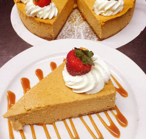 Pumpkin Cheesecake (Slice)