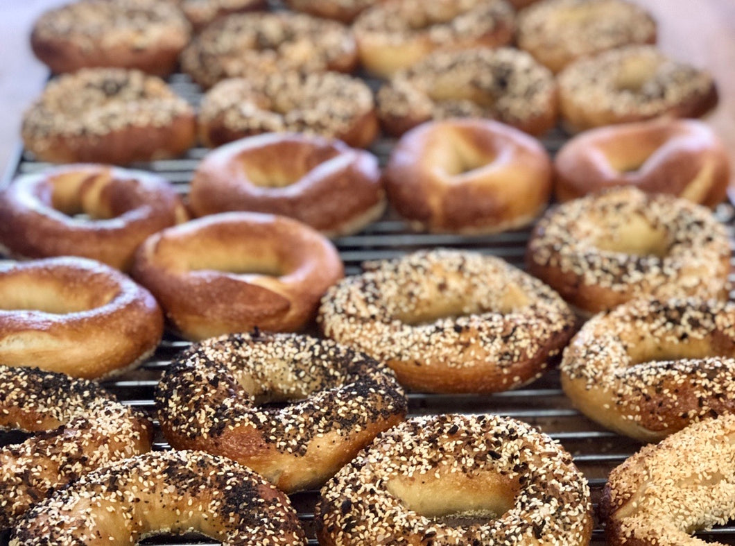 Freezer to Oven Plain Bagels (4)