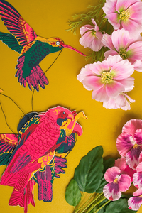 Tropical Bird Garland