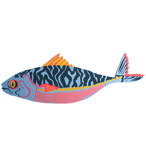 Mackerel Greeting Card