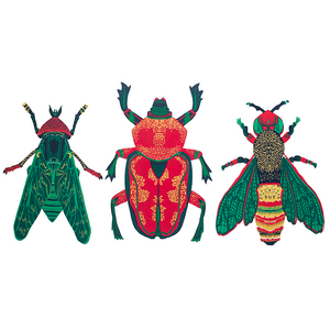 Wasp Greeting Card