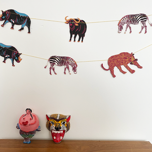Safari Animal Garland