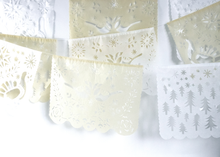 Cream Papel Picado