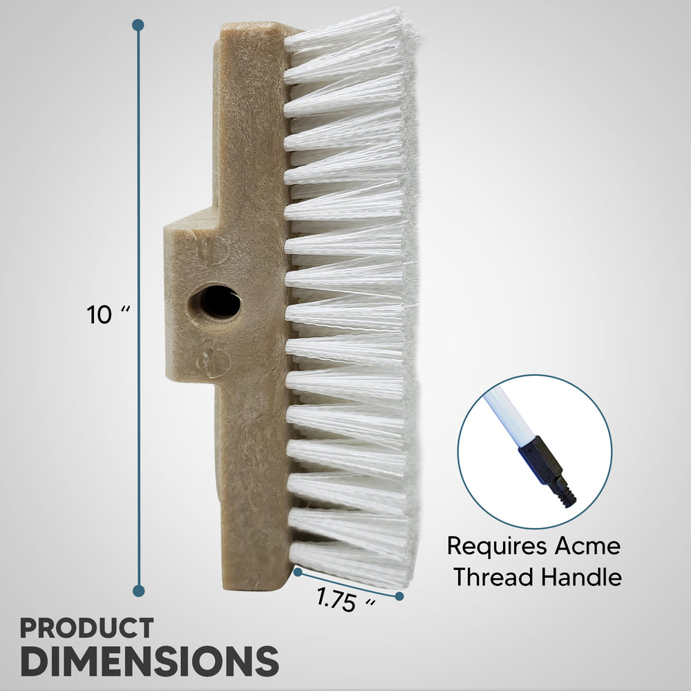 Acme Thread handle with Product Dimentions