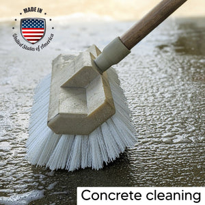 Deck Cleaning Brush For Concrete cleaning.