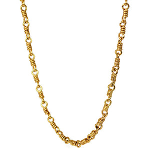 Isabella Chain Necklace in 20k Peach Gold