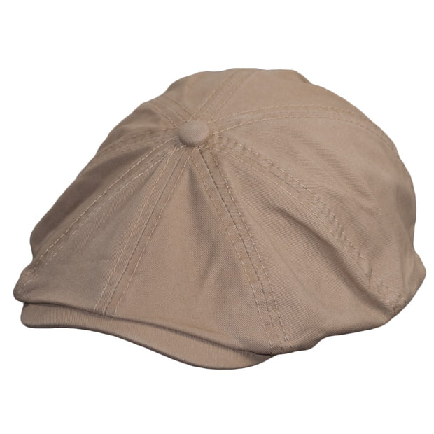 Flat Cap Newsboy Cap Cotton Bakerboy Dai Cap Hunting Hat Peak caps in 5 Colours - Dazoriginal