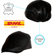 Dazoriginal Leather Flat Cap - Dazoriginal