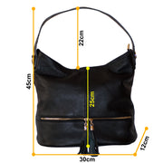 Dazoriginal Womens Leather Tote Handbags Shoulder Bag - Dazoriginal