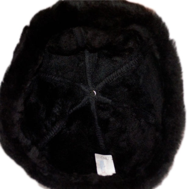 Docker Cap Fisherman Ushanka Ski Hat Winter Beanie Trapper Skully Black / Brown - Dazoriginal