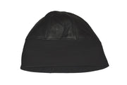 Docker Cap Fisherman Ski Hat Winter Beanie Unisex Plain Black Leather Insulated Skully - Dazoriginal