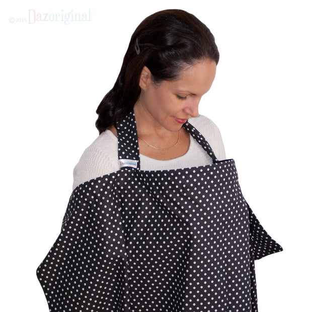 Dazoriginal Nursing Cover Breastfeeding Covers 100% Cotton Nursing Apron Boned Tops 10 colors - Dazoriginal