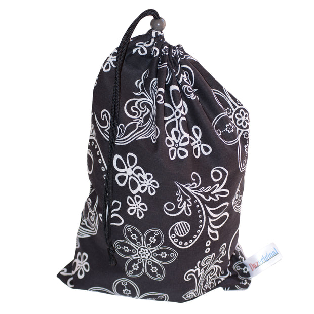 Small Cotton Drawstring Bag Insert Organiser Baby Travel Home 3 PCS - Dazoriginal