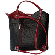 Women Leather Backpack Handbag Shoulder Bag Hobo Rucksack Daypack 5 COLOURS - Dazoriginal