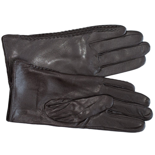 Dazoriginal Womens Nappa Leather Gloves Brown - Dazoriginal