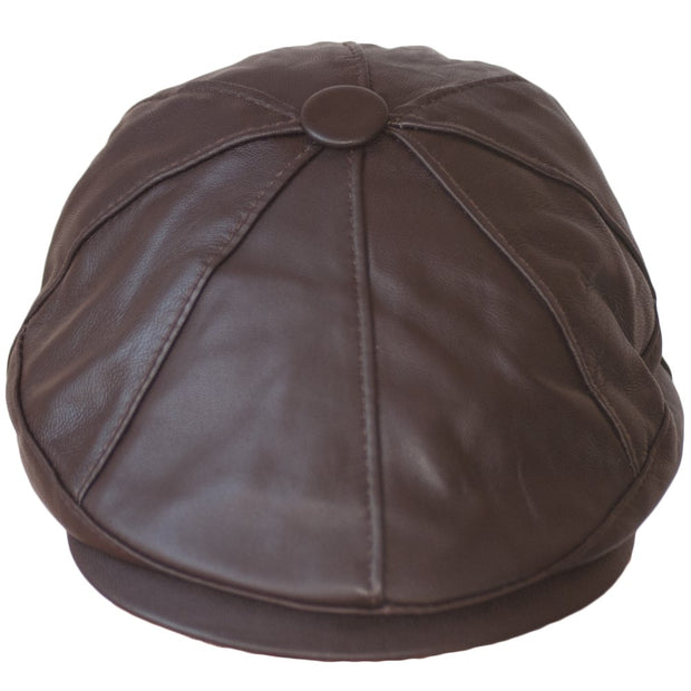 Dazoriginal Leather Newsboy Cap - Dazoriginal