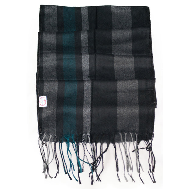 Dazoriginal Men Long Plain Scarves - Dazoriginal
