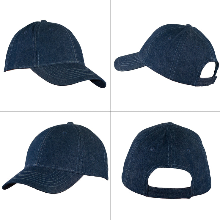 Denim Baseball Cap - Dazoriginal