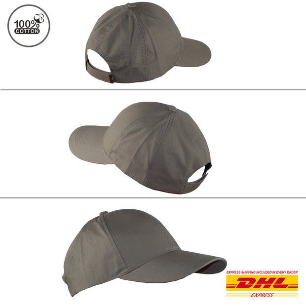 Baseball Caps Cotton Lightweight Summer Hats Precurved Snapback 4 Colours - Dazoriginal