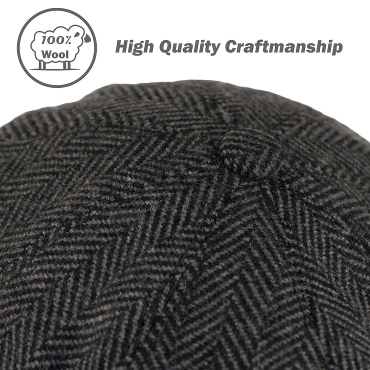 Dazoriginal Tweed Wool Hat - Dazoriginal