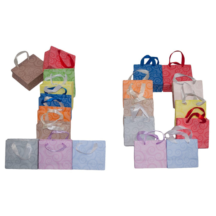 Dazoriginal Small 13x10 Gift Bags Birthday Party Bag Paper Carrier  Kraft Paper Favor Bags - Dazoriginal