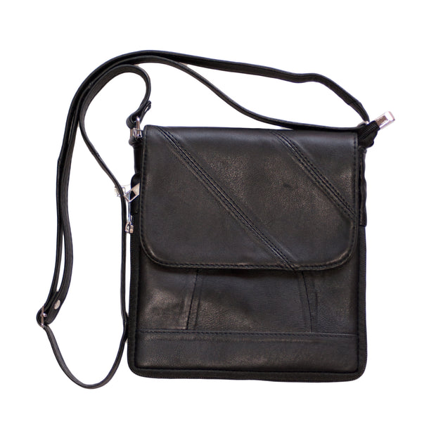 Dazoriginal Mens Cross Body Bag Sling Genuine Leather Messenger Bag Shoulder Bag - Dazoriginal