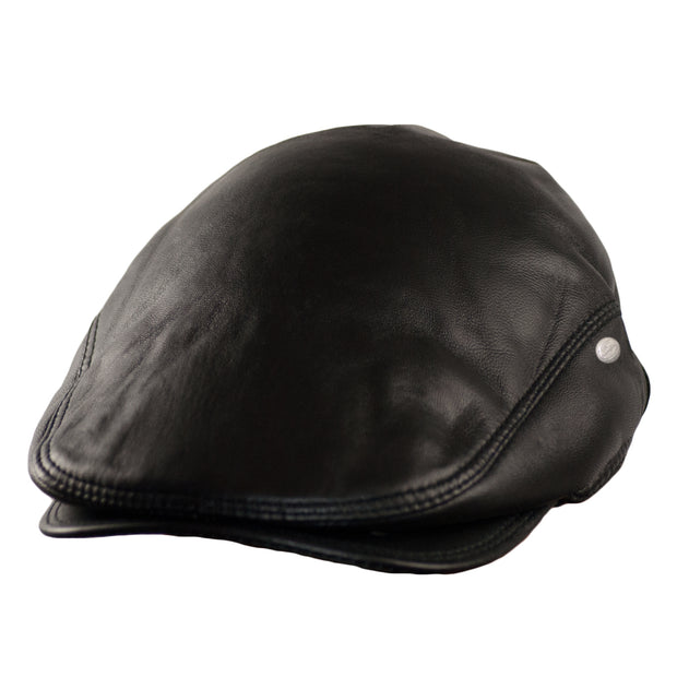 Dazoriginal Lambskin Leather Flat Cap Ivy - Dazoriginal