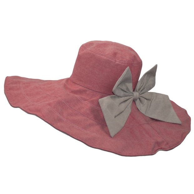 Dazoriginal Wide Brimmed Sun Hat Summer Ladies Foldable Wide Bucket Plain Anti UV Sunbonnet - Dazoriginal