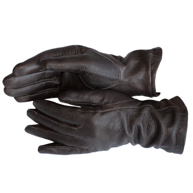 Plain Nappa Leather Gloves Womens Winter Gloves Wool Soft Brown Leather Black Lambskin - Dazoriginal