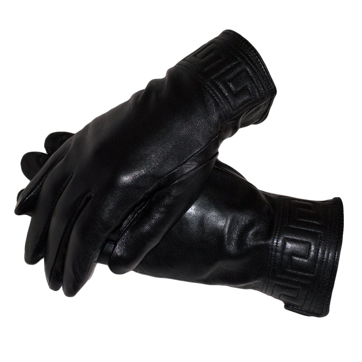 Dazoriginal Womens Black Leather Gloves Touchscreen - Dazoriginal