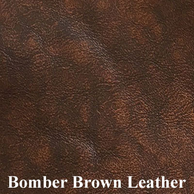 Bomber Brown Leather
