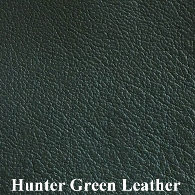 Hunter Green Leather