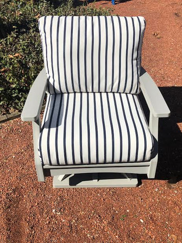 Berlin Gardens Classic Terrace Swivel Rocker- Showroom Inventory