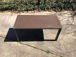 "Telescope Casual Marine Grade Polymer 21"" x 42"" Coffee Table- Showroom Inventory"