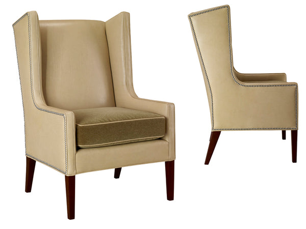 Leathercraft 1261-17 Kellan Wing Chair