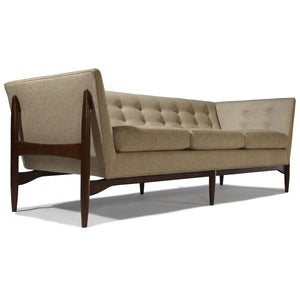Thayer Coggin 1277-303 Button Up Sofa by Milo Baughman
