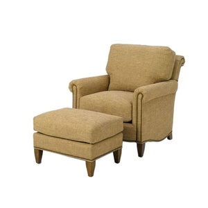 Wesley Hall 1535 Barringer Chair and 1535-26 Barringer Ottoman