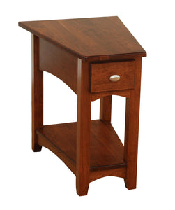 Modern Shaker Wedge End Table