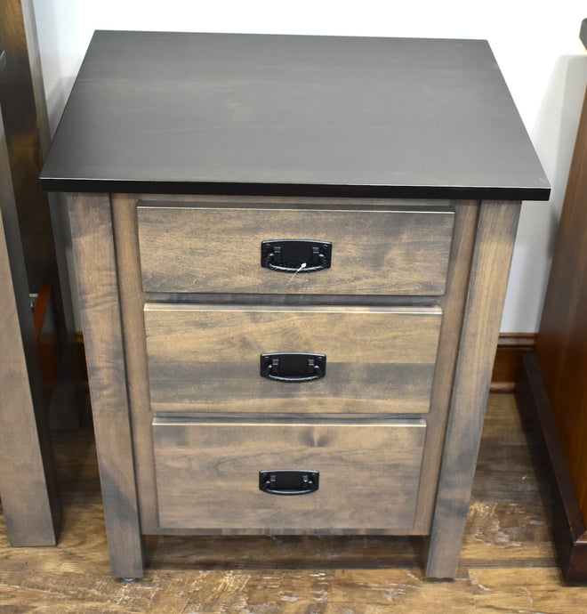 Dutch Country Mission 3-Drawer Nightstand