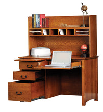 "Load image into Gallery viewer, Rivertowne 48"" 4-Drawer Desk"