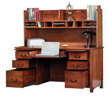 "Load image into Gallery viewer, Rivertowne 60"" 7-Drawer Desk"