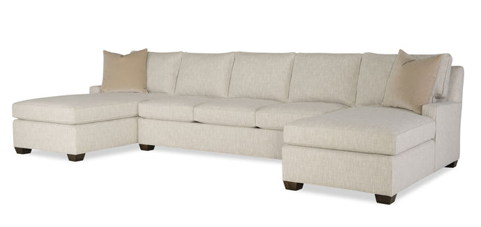 Wesley Hall 2080 Hodge Chaise Sectional