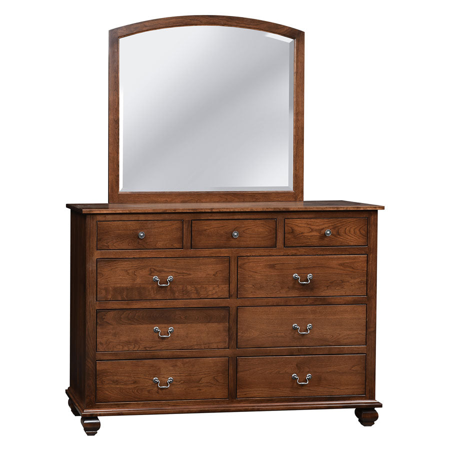 "Stanton 62"" Dresser with 9 Drawers and Mirror"