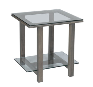 Hilton 292 Glass Top End Table