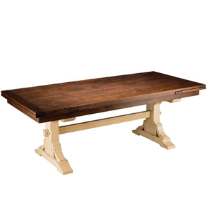 Mackenzie Dow Trattoria Trestle Refectory Table
