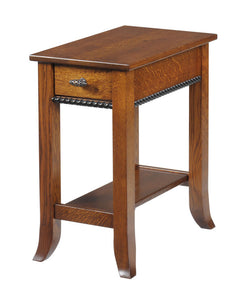 Cranberry Chairside End Table
